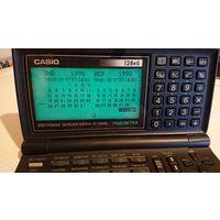 Электронная записная книжка Casio sf-5580RS 128кб