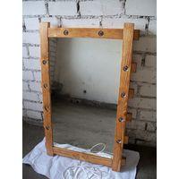 Зеркало гримерное (макияжное, театральное) 005