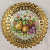 Тарелка (блюдце) Сочные Фрукты (Грушевый Сад), КарлсБат