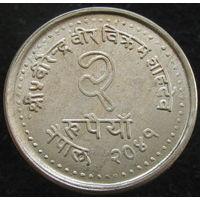 Непал 2 рупии 1984 Планирование семьи ФАО (2-260)