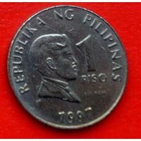 33-31 Филиппины, 1 песо 1997 г.