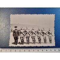 Солдаты с ППш. Фото