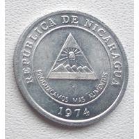 Никарагуа 5 сентаво, 1974 6-6-29