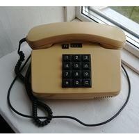 Надежный кнопочный телефонный аппарат на все времена, телефон СССР ГДР, Германия, POST FeTAp 751, рабочий!