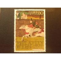 Япония 2002 Неделя филателии, живопись 17 века
