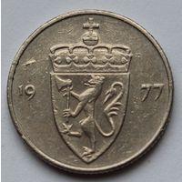Норвегия 50 эре, 1977 г.