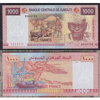 Распродажа коллекции. Джибути. 1 000 франков 2005 года (P-42a - 2002-2009 Issue)