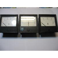 Набор панельных приборов  V,А,Кв,мка (разных -  15 шт.)
