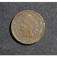 США 1 цент, 1903 KM# 90a