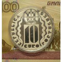 Португалия 10 евро 2004 г пруф