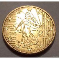 10 евроцентов, Франция 2006 г., AU