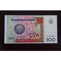 Узбекистан 500 сум 1999 UNC