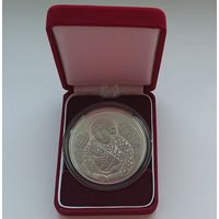 Футляр для монеты 50.00 мм с капсулой 58,00 mm бархатный красный