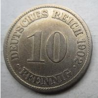 Германия. 10 пфеннигов 1902 A 67