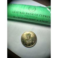 50 евроцентов Кипр 2013 год