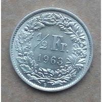 Швейцария 1/2 1963