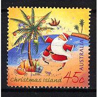 2005 Остров Рождества. Рождество