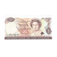 Новая Зеландия 1 доллар образца 1981 года. Состояние UNC! Редкая!