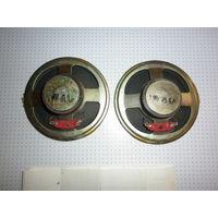 Комплект динамиков от магнитофона International + схема, инструкция.