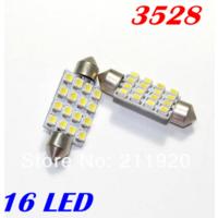 Автомобильные светодиодные  лампы 12v T10 16 SMD 3528