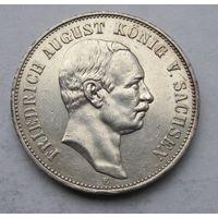 Германия, Саксония, 5 марок, 1907, серебро