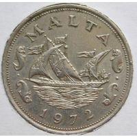 Мальта 10 центов 1972 год