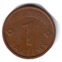 Латвия. 1 сантим. 2005 г.