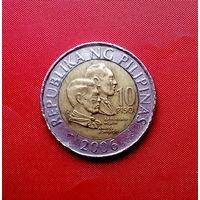 86-09 Филиппины, 10 писо 2006 г.