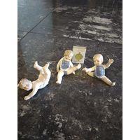 Маленькие гимнасты(фарфор)