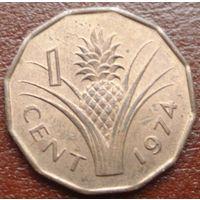7100: 1 цент 1974 Свазиленд