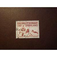Гренландия 1986 г.Искусство.
