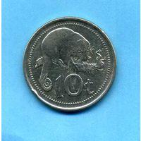 Папуа Новая Гвинея - 10 т 2010 год