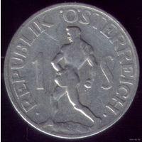 1 Шиллинг 1946 год Австрия