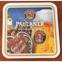 Подставка под пиво Paulaner No 25