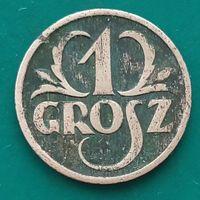 1 грош 1927 ПОЛЬША