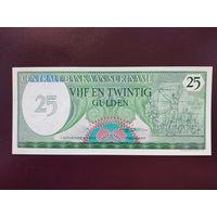 Суринам 25 гульденов 1985 UNC