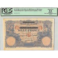 Тунис 1000 франков 1942