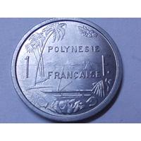 Французская Полинезия 1 франк 1979 г.