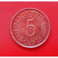 59-31 Маврикий, 5 центов 1999 г.