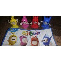 Серия игрушек из киндера