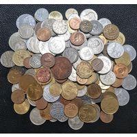 Супер мега лот! Более 170 монет со всего мира. Без СССР, Украины, России. С рубля