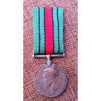 Медаль Великобритании 1939-1945г. ВМВ. Оригинал.