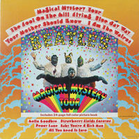 The Beatles, Magical Mystery Tour, LP + BOOK, 1967