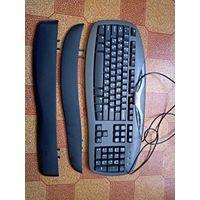 Клавиатура мультимедийная chicony kb-0402. Ps/2
