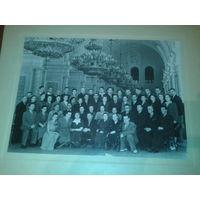 Большое фото в Колонном зале дома союзов