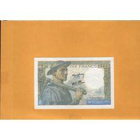 Франция  10 франков 1943 г. ау+