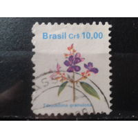 Бразилия 1990 Стандарт, цветы 10,00