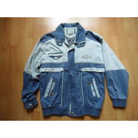 Мужская джинсовая куртка (примерно 52-54 р-р)