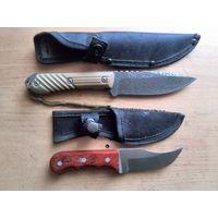 Четыре разделочных и шкуросьёмных ножа одним лотом