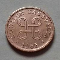 5 пенни, Финляндия 1965 г.